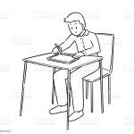 Menschen Zeichnen Auf Tablet Stock Vektor Art Und Mehr Bilder Von Arbeiten Istock