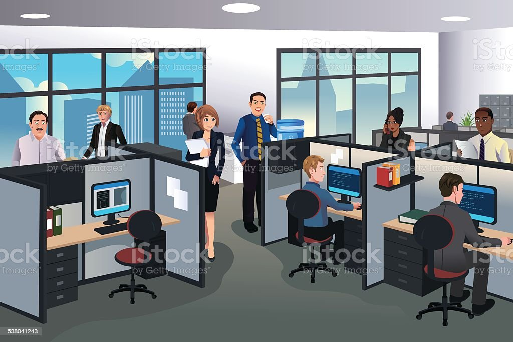 And Safety Art Cartoons Office Clip
