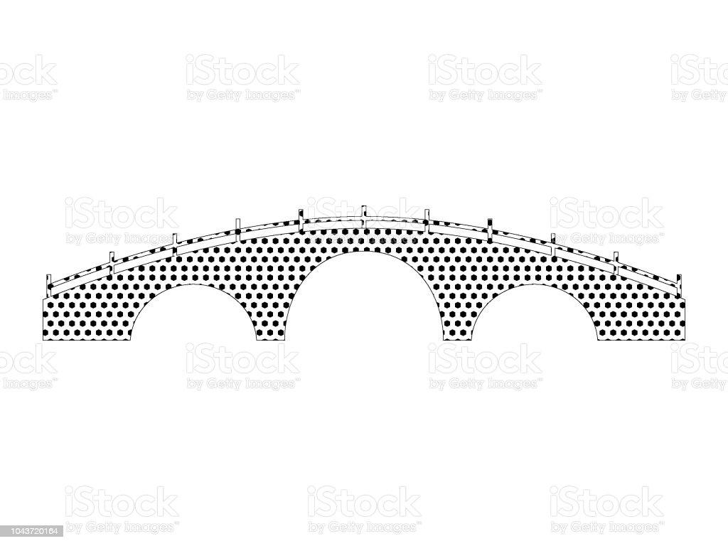 https www istockphoto com fr vectoriel pont japonais pixel gm1043720164 279376838