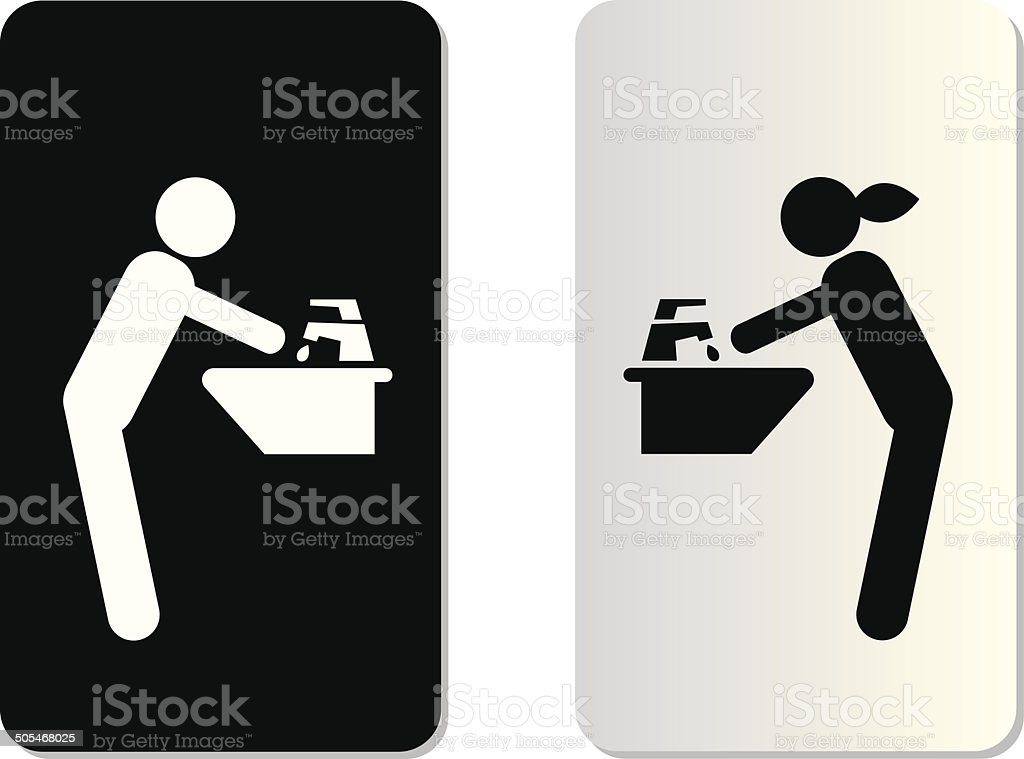Royalty Free Washing Hands Clip Art, Vector Images