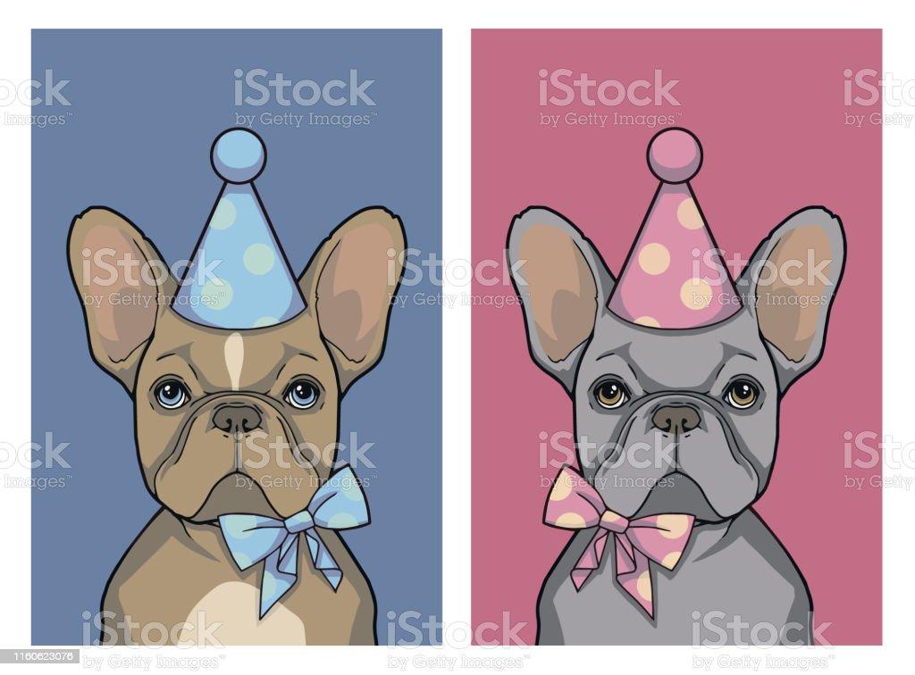 27 Happy Birthday French Bulldog Illustrations Clip Art Istock