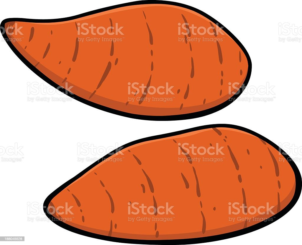 Sweet Potato Clip Art, Vector Images & Illustrations - iStock (612 x 495 Pixel)