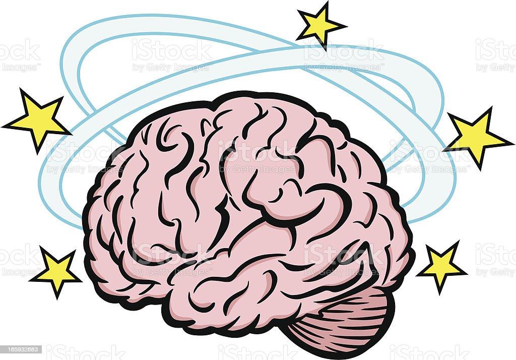 Royalty Free Brain Stroke Cartoon Clip Art, Vector Images