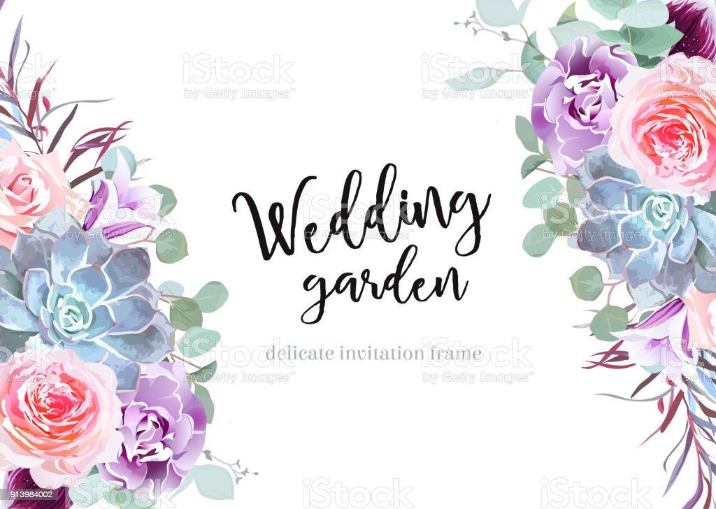 Best Flower Border Illustrations, Royalty-Free Vector