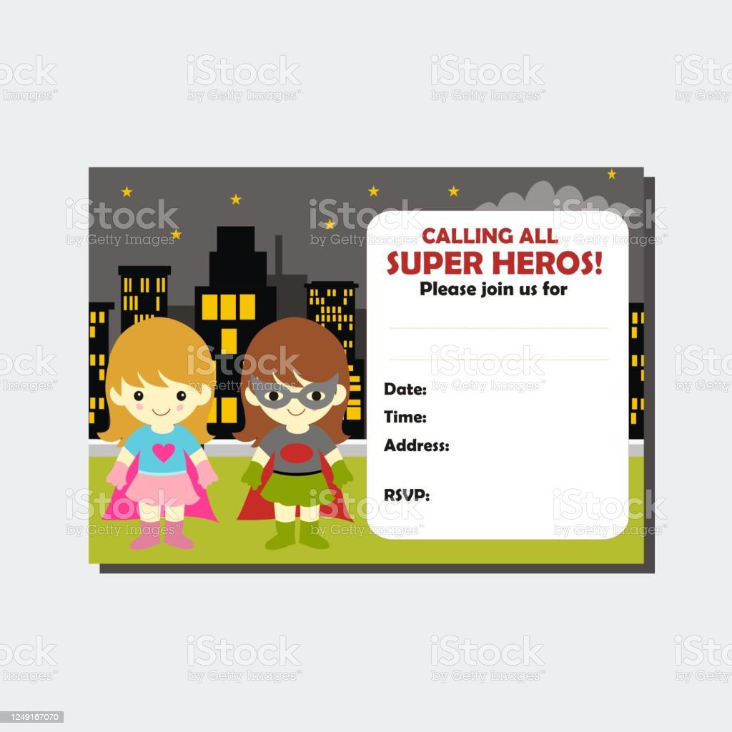 192 superhero birthday illustrations clip art istock