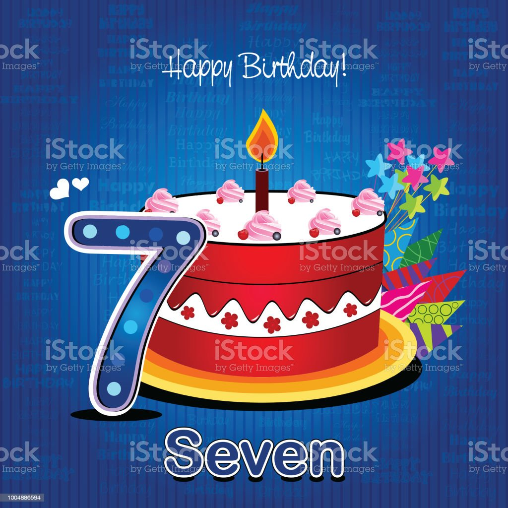 595 Happy 7th Birthday Stock Photos Pictures Royalty Free Images Istock
