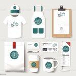 Vector Restaurant Cafe Set Flyermenu Package Tshirt Cap Uniform Design Stock Illustration Download Image Now Istock