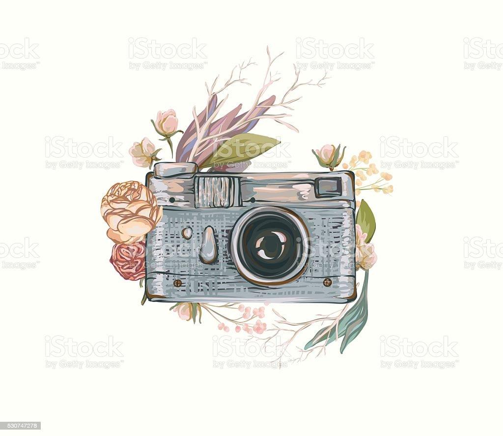 Transparent Vintage Camera Drawing Tumblr
