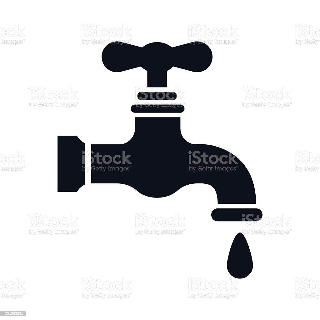 Dripping Faucet Clip Art Black And White