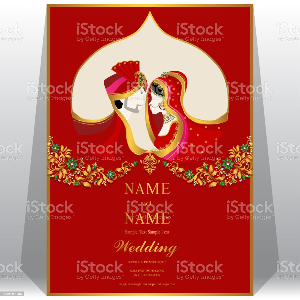 indian wedding vector art graphics freevector com
