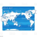 World Blank Map Stock Illustration Download Image Now Istock