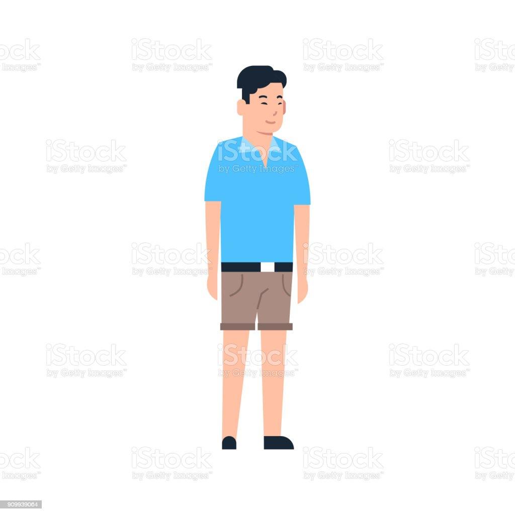 https www istockphoto com fr vectoriel jeune homme asiatique chinois ou japonais m c3 a2le portant des v c3 aatements pleine gm909939064 250611332