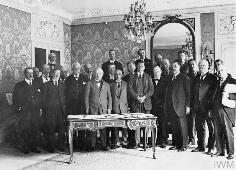 THE PARIS PEACE CONFERENCE 1919 1920 Imperial War Museums