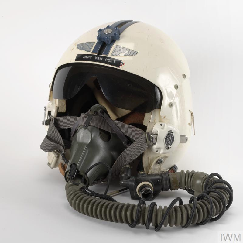 Flying Helmet Type HGU 2AP With Oxygen Mask USAF