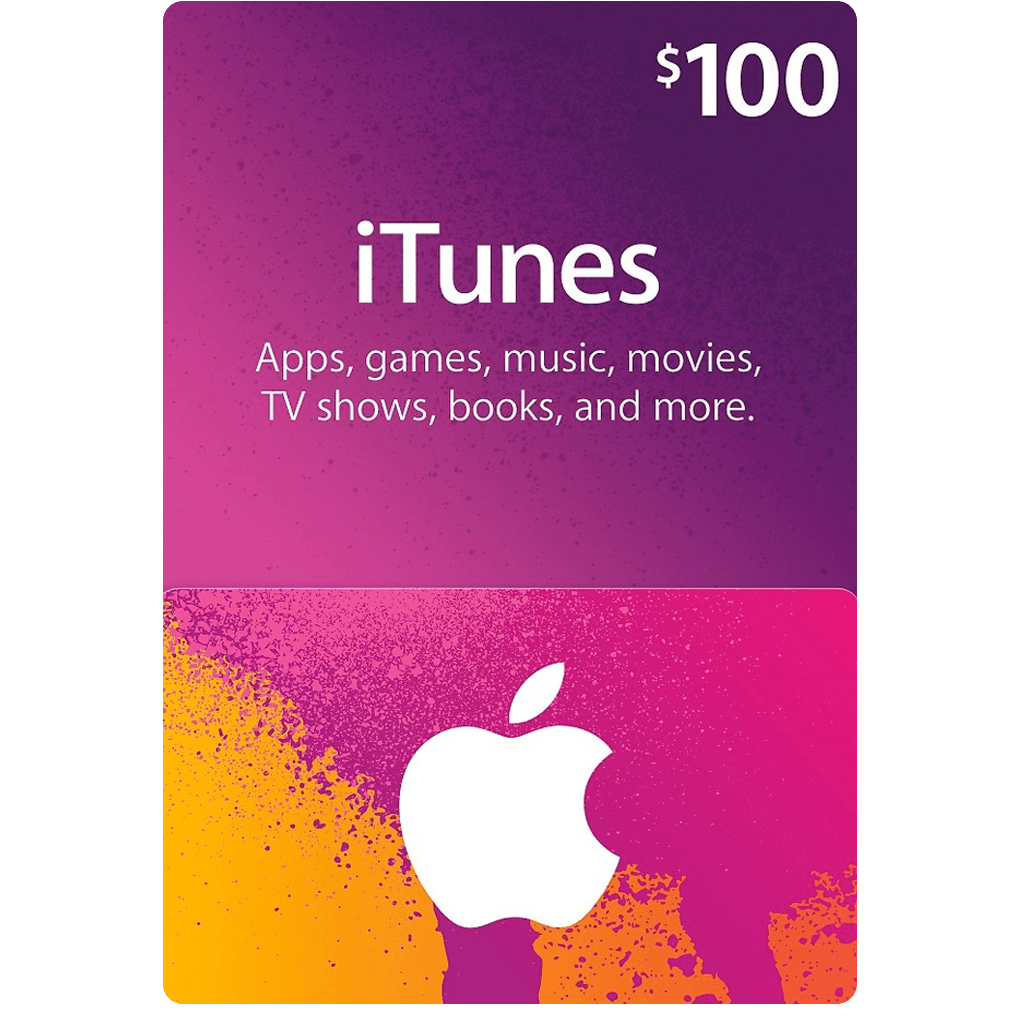 iTunes US Gift Card $100