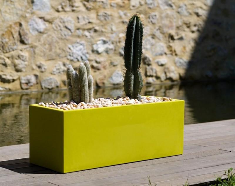 jardiniere rectangulaire en resine vondom by design studio