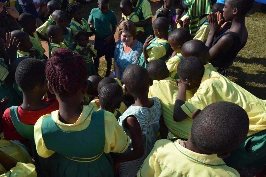 Child Africas barn och Jessica Jäger