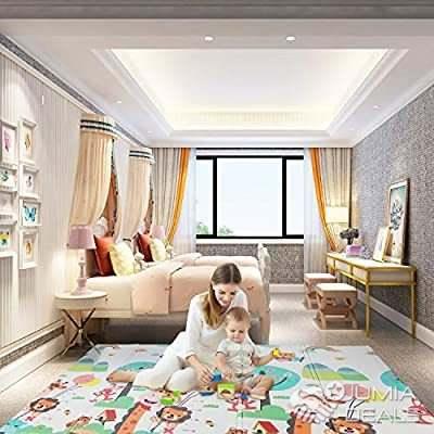 tapis d eveil et jeu pliable pour bebe et enfant