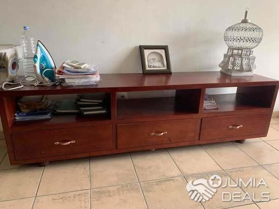 meuble salon bois massif