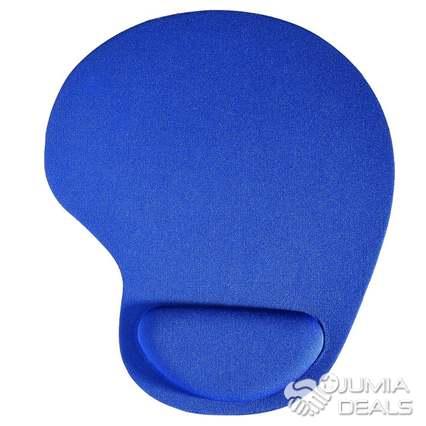 20x20x4cm tissu eva tapis de souris bleu noir couleur avec repose poignet doux confort tapis de souris pour ordinateur tapis de souris