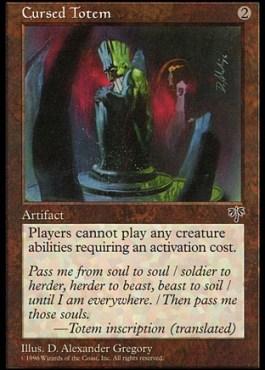 [Image of Cursed Totem]
