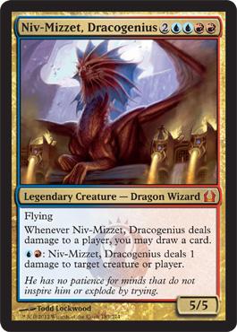 Niv-Mizzet, Dracogenious