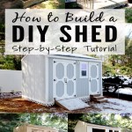 How To Build A Storage Shed From Scratch Step By Step Tutorial For Diyers