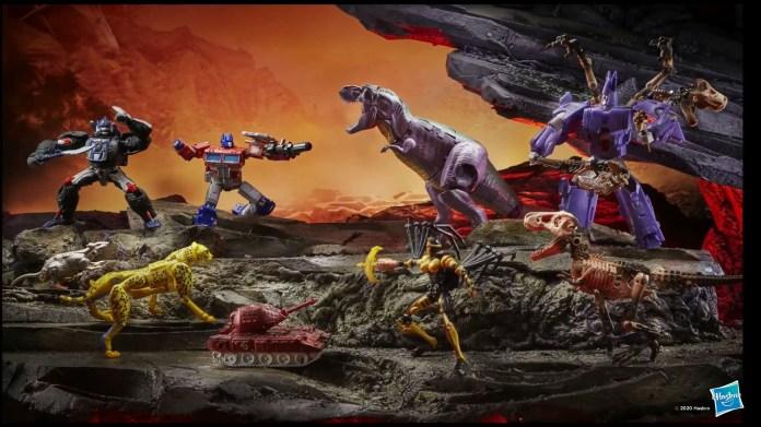 Transformers War For Cybertron Kingdom Wave 1 Set of 10 - Kapow Toys
