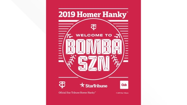 Homer Hanky returns for Twins home playoff games