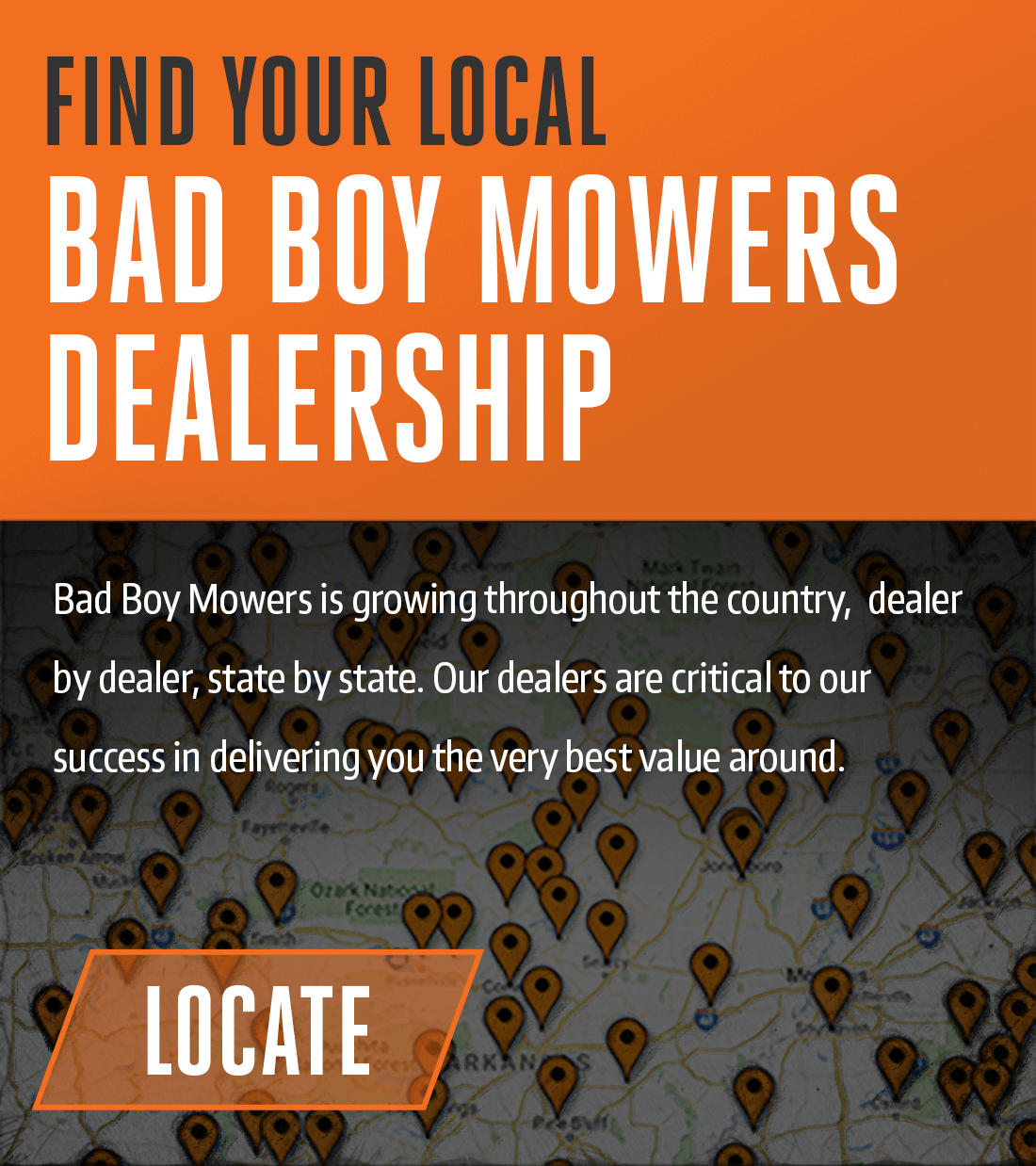 Find Your Local Bad Boy Mowers Dealer