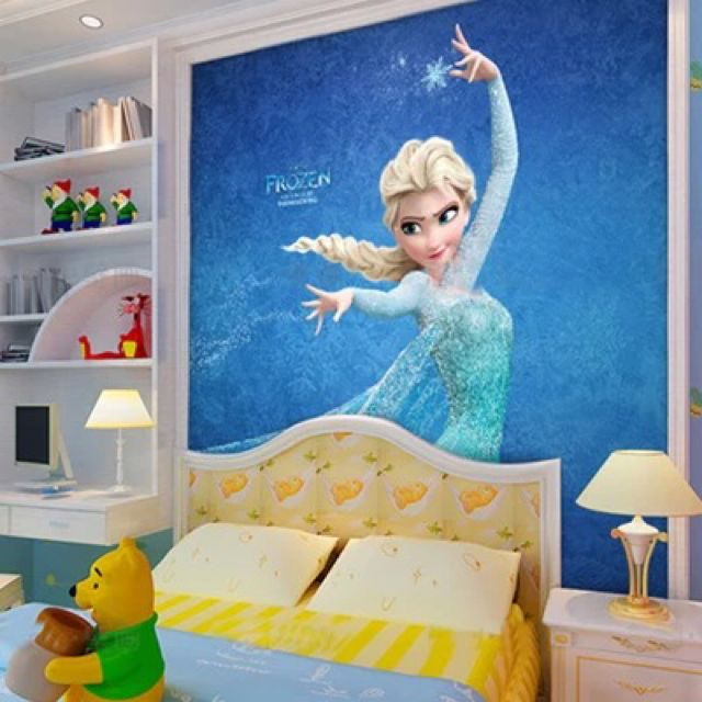 3D Frozen Wallpaper  Furniture on Carousell photo photo