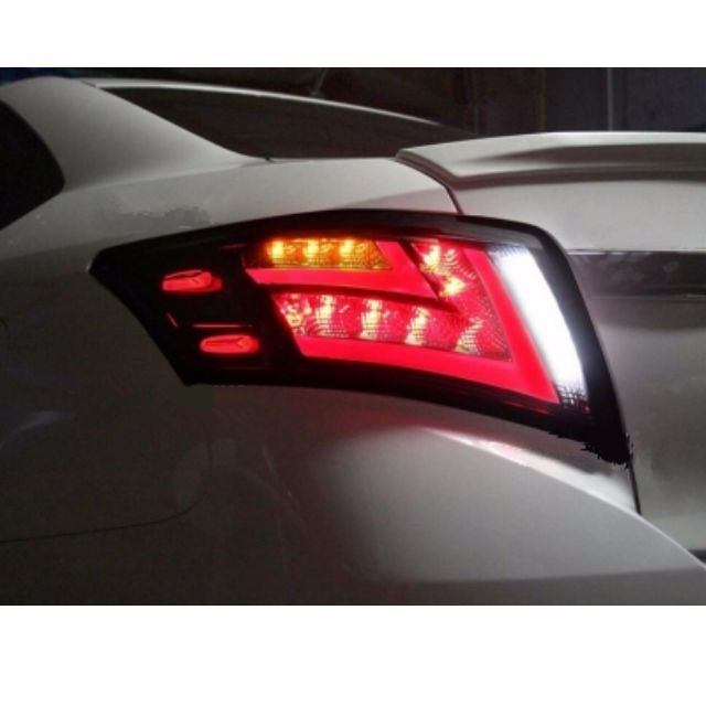 Toyota Vios 15 LED Tail Light Assembly Lexus Style, Car Accessories on Carousell