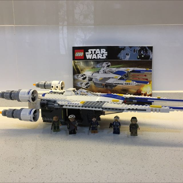 Lego Star Wars 75155 U Wing Fighter Toys Games Bricks