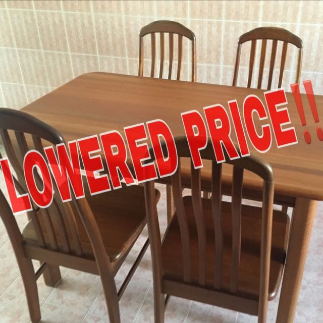 second hand wooden table cheap and good condition lowered price