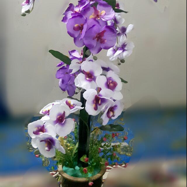 Gubahan Bunga Pasu Tinggi