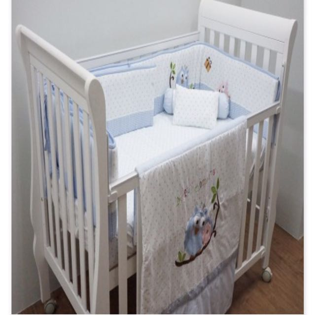 Jarron Co Baby Cot With Mattress And Bedding Set Babies Kids Others On Carou