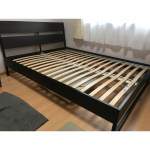 Queen Size Bed Frame Trysil Ikea Furniture Beds Mattresses On Carousell