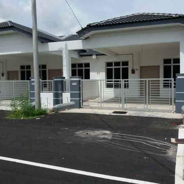 Rumah Teres Setingkat Baru Untuk Dijual