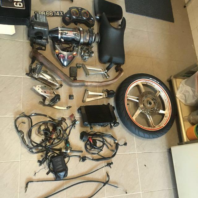 Honda Cbr 150r Bike Spare Parts Women