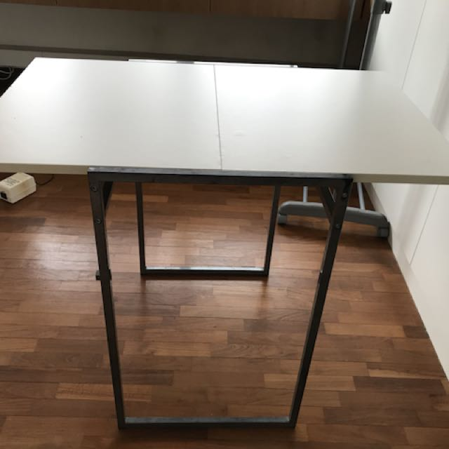 Ikea Drop Leaf Table White Furniture Tables Chairs On Carousell