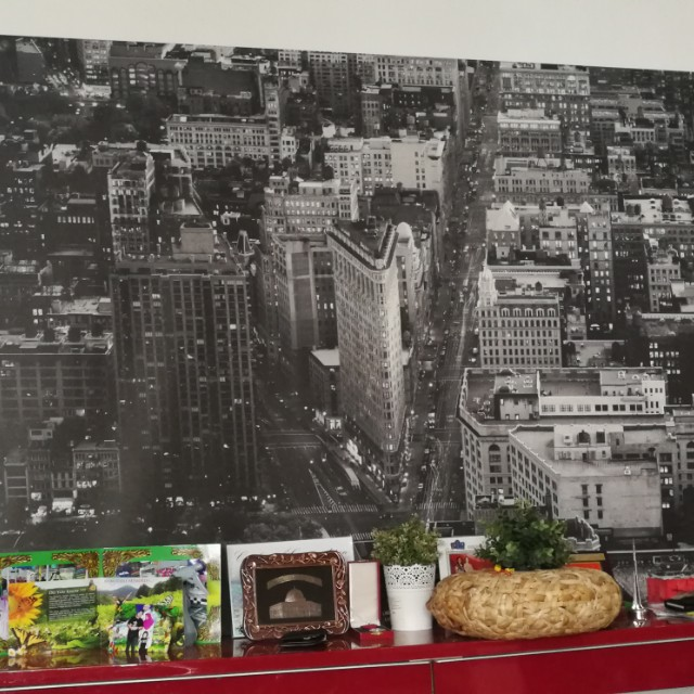 new york poster from ikea