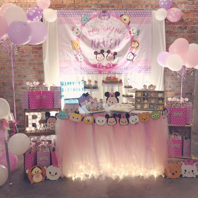 Tsum Tsum Birthday Party Set Up Design Craft Others On Carousell