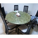 Granite Dining Table Furniture Tables Chairs On Carousell