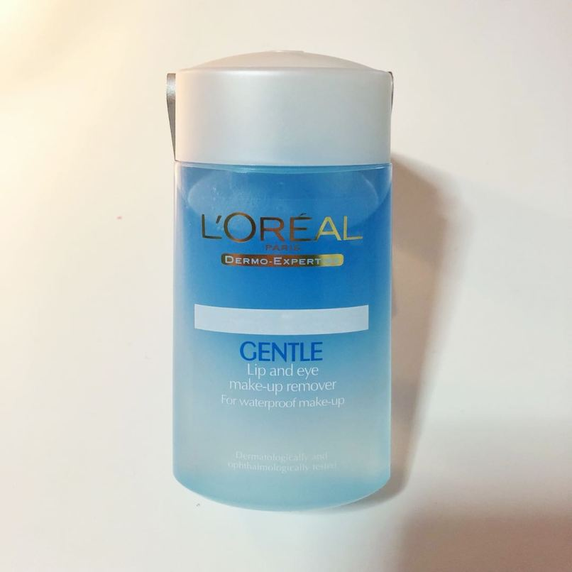 Loreal Gentle Lip And Eye Make Up Remover Health Beauty Makeup