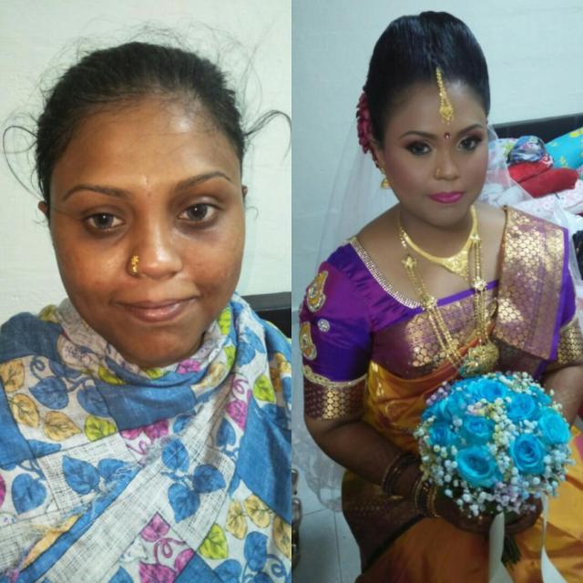 bridal makeup hairdo sareetying services, lifestyle services