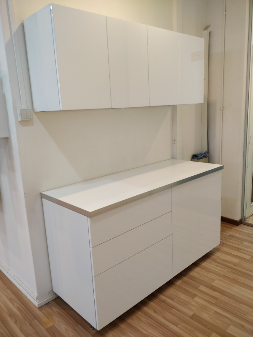 Ikea Kitchen Cabinets 85 Off Ikea Price Furniture Shelves Drawers On Carousell