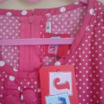 Dress Anak Baju Anak Perempuan 4tahun Ex Kado Motif Polkadot Pink Bayi Anak Baju Anak Perempuan Di Carousell
