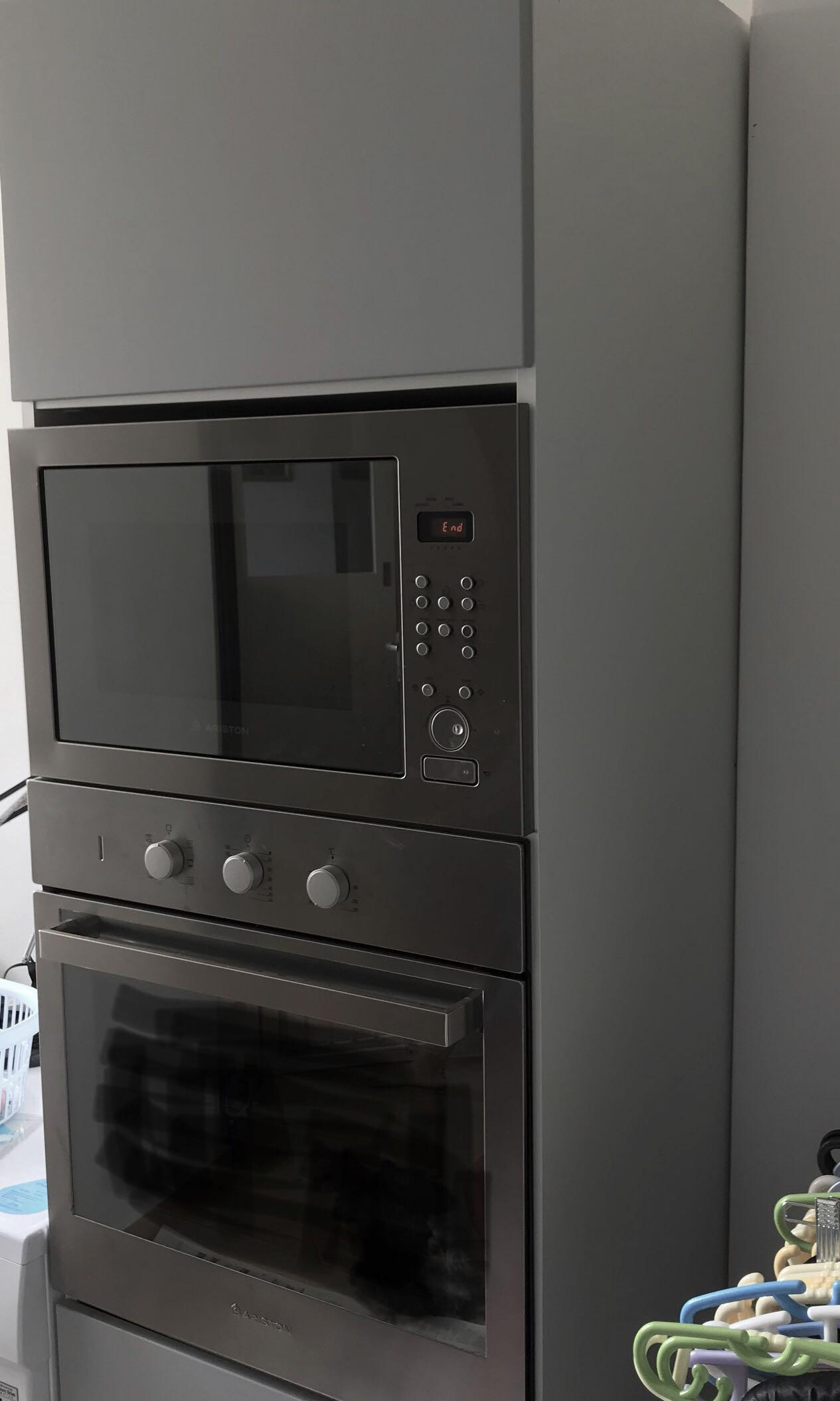 ikea high cabinet for oven combi
