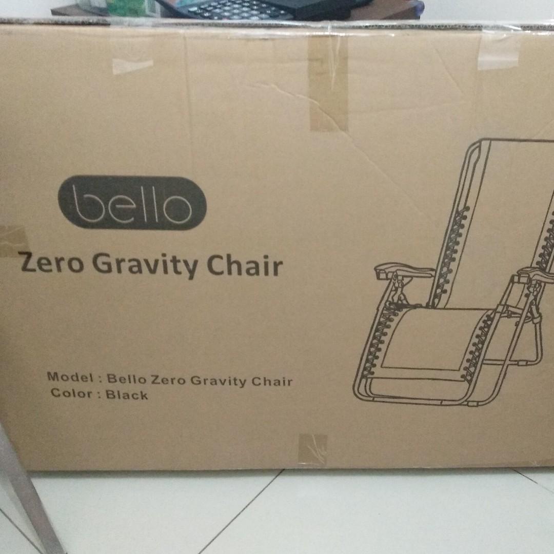 Bello Zero Gravity Chair Home Furniture On Carousell