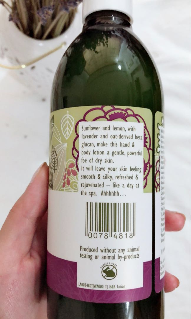 Bn Trader Joes Spa Lavender Hand Body Lotion Health Beauty Face Skin Care On Carousell